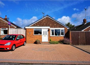 Thumbnail 4 bed detached bungalow for sale in Renshaw Drive, Newhall, Swadlincote