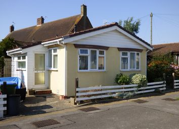 Thumbnail 2 bed mobile/park home for sale in Woodlands Park, Yapton, Arundel