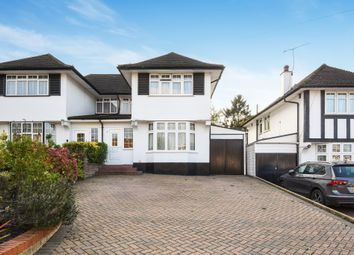 Thumbnail 3 bed semi-detached house for sale in Hillcroft Crescent, Off Hampermill Lane, Oxhey Hall