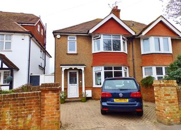 Thumbnail 3 bed semi-detached house for sale in Hunloke Avenue, Eastbourne