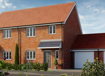 Thumbnail 3 bed semi-detached house for sale in Heckfords Road, Great Bentley, Colchester