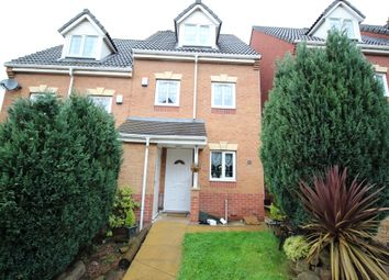 Thumbnail 3 bed semi-detached house for sale in Hills Close, Mexborough
