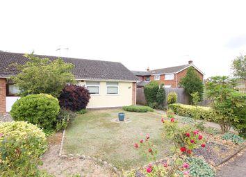 Thumbnail 2 bed semi-detached bungalow for sale in Edinburgh Gardens, Claydon, Ipswich, Suffolk