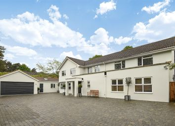 Thumbnail 7 bed detached house for sale in Brackendale Road, Camberley, Surrey