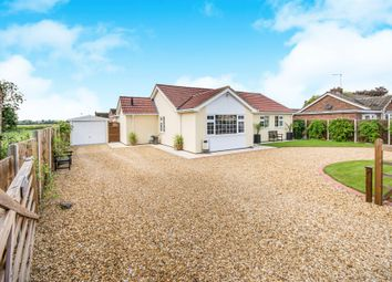 Thumbnail 3 bed detached bungalow for sale in Wype Road, Eastrea, Peterborough