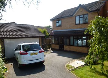 Thumbnail 4 bed detached house for sale in Granary Close, Glenfield, Leicester.