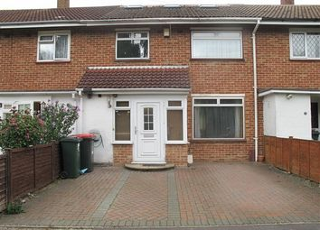 Thumbnail 4 bed terraced house to rent in Martin Close, Crawley