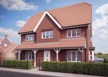 Thumbnail 4 bed semi-detached house for sale in Tadpole Garden Village, Swindon, Wiltshire