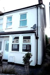 Thumbnail 2 bedroom semi-detached house to rent in Wherstead Road, Ipswich