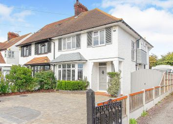 Thumbnail 4 bed semi-detached house for sale in Arundel Gardens, Westcliff-On-Sea