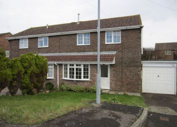 Thumbnail 3 bedroom semi-detached house for sale in Fonmon Park Road, Rhoose, Barry