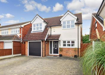 Thumbnail 4 bed detached house for sale in The Warren, Billericay, Essex
