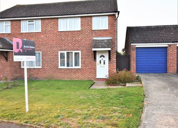 Thumbnail 3 bed semi-detached house for sale in Parr Close, Leatherhead