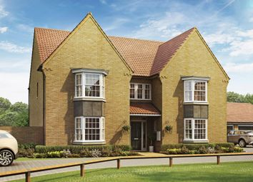 "Thumbnail 5 bed detached house for sale in ""Evesham"" at Sir Williams Lane, Aylsham, Norwich"
