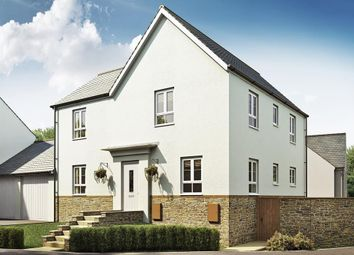 "Thumbnail 4 bedroom detached house for sale in ""Alderney"" at Kimlers Way, St. Martin, Looe"