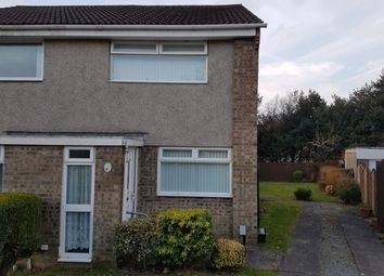 Thumbnail 2 bedroom semi-detached house to rent in Heol Yr Wylan, Cwmrhydyceirw