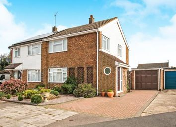 Thumbnail 3 bedroom semi-detached house for sale in Telscombe Way, Luton, Bedfordshire
