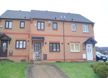 Thumbnail 2 bed terraced house to rent in St. Davids Close, Brackla, Bridgend.