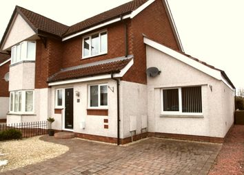 Thumbnail 3 bed semi-detached house for sale in Dinwiddie Drive, Heathhall, Dumfries
