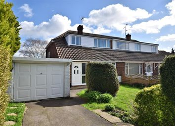 Thumbnail 3 bed semi-detached house for sale in Rosecroft Way, Shinfield, Reading