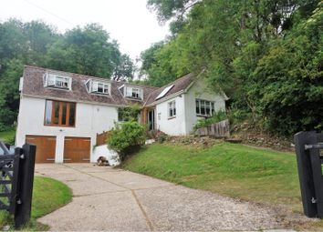 Thumbnail 5 bedroom detached house for sale in Cowleaze Hill, Shanklin