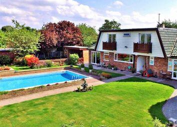 Thumbnail 5 bed detached house for sale in Kenyon Lane, Lowton, Warrington