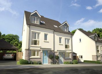 Thumbnail 4 bedroom semi-detached house for sale in Godrevy Parc, Hayle, Cornwall