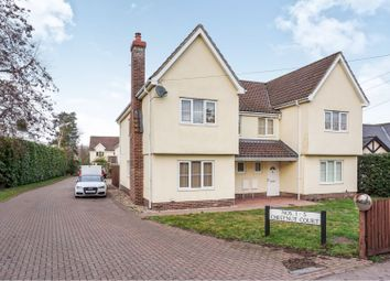 Thumbnail 3 bed semi-detached house for sale in The Street, Bury St. Edmunds