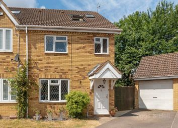 Thumbnail 3 bed semi-detached house for sale in Wiseman Close, Luton