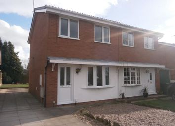 Thumbnail 2 bed semi-detached house to rent in Dart Avenue, Stafford