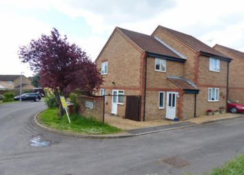 Thumbnail 2 bed end terrace house for sale in Beaulieu Court, Eye, Peterborough