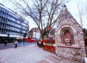 Thumbnail Studio to rent in Whitechapel Road, Aldgate East, London
