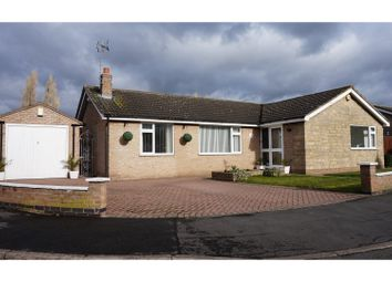 Thumbnail 3 bed detached bungalow for sale in Roman Way, Syston