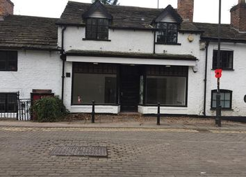 Thumbnail Retail premises to let in New Road, Prestbury, Macclesfield, Cheshire