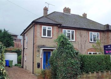 Thumbnail 3 bed semi-detached house to rent in Clockhouse Road, Farnborough, Hampshire