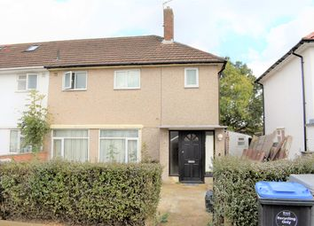 Thumbnail 3 bed semi-detached house to rent in Farm Avenue, Wembley