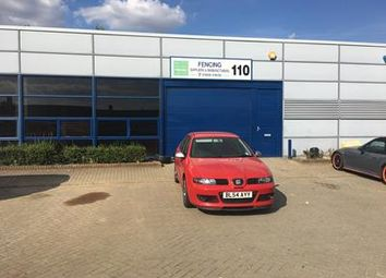 Thumbnail Warehouse to let in 110 Tanners Drive, Blakelands, Milton Keynes, Buckinghamshire