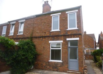 Thumbnail 3 bed semi-detached house to rent in Melrose Villas, Melrose Road, Gainsborough
