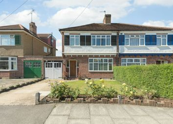 Thumbnail 3 bed semi-detached house for sale in Tewkesbury Avenue, Pinner, Middlesex