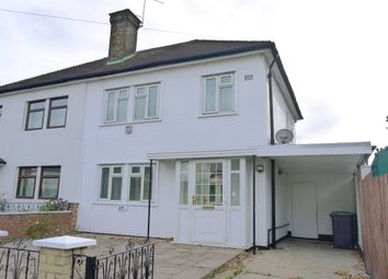 Thumbnail 3 bed semi-detached house to rent in Durnsford Road, London