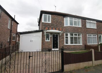 Thumbnail 3 bedroom semi-detached house for sale in Durnford Avenue, Urmston, Manchester