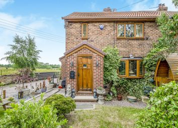 Thumbnail 3 bed semi-detached house for sale in Stoneleigh Cottages, Wintersett, Wakefield