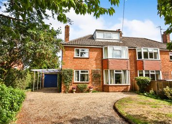 Thumbnail 3 bed semi-detached house for sale in Wells Road, Fakenham