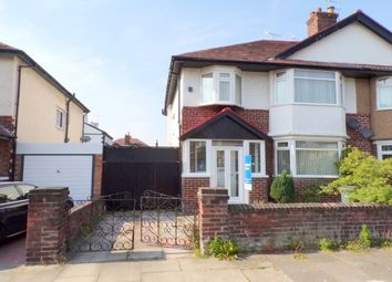 Thumbnail 3 bed property to rent in Vyner Road, Wallasey
