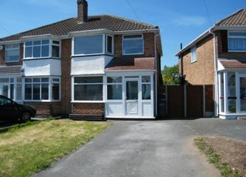 Thumbnail 3 bed property to rent in Wyckham Road, Castle Bromwich, Birmingham