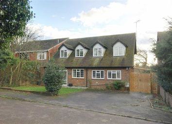 Thumbnail 4 bed detached house for sale in Great North Road, Bell Bar, Hertfordshire