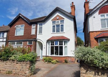 Thumbnail 4 bed semi-detached house for sale in Edward Road, West Bridgford, Nottingham