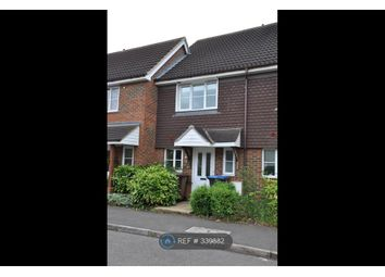 Thumbnail 2 bed terraced house to rent in Clover Way, Hatfield