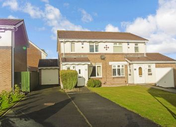 Thumbnail 3 bed semi-detached house for sale in Bluebell Close, Gateshead