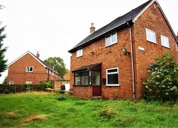 Thumbnail 3 bed end terrace house for sale in Penrhos, Wrexham